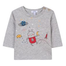 Absorba Baby Boy's Space Rabbit T-Shirt