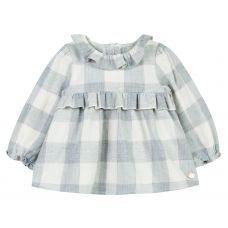 Tartine et Chocolat Baby Girl's Check Print Blouse