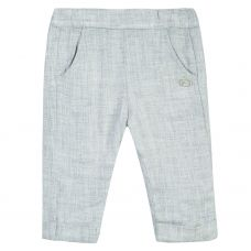 Tartine et Chocolat Baby Heather Grey Flanel Trousers