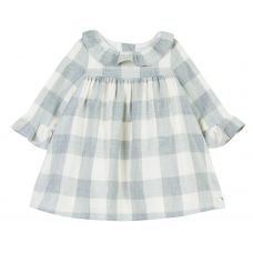 Tartine et Chocolat Girls Checked Dress