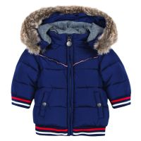 Tartine et Chocolate Boys Navy Blue Down Jacket