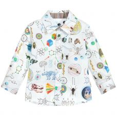 Paul Smith Junior Boys White 'Solan' Shirt