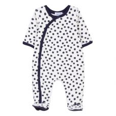 Absorba Baby's Polka Dot Playsuit