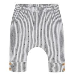 Absorba - Unisex Anthracite Grey & White Striped Trousers