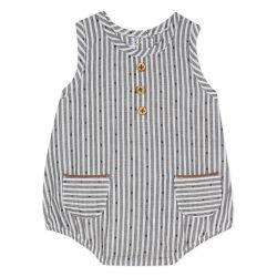 Absorba - Unisex Striped Sleeveless Shortie
