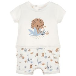 Absorba - Baby Boys Short Sleeve Romper