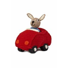 Anne-Claire Petit - Red Animal Car Bunny