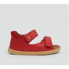 Bobux - Unisex 'Driftwood' Red Dress Sandal