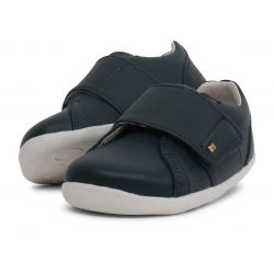 Bobux - Boys Navy Blue 'Boston' Trainer First Walker Shoes
