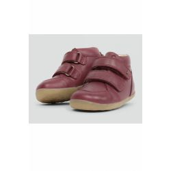 Bobux - Baby Girls Plum 'Timber' First Walker Boots