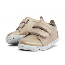 Bobux - Girls Gold 'Grass Court' Shoes
