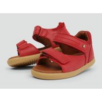 Bobux - Unisex 'Driftwood' Red Casual Sandals