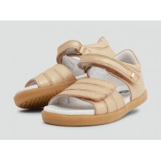 Bobux - Girls 'Hampton' Gold Sandals