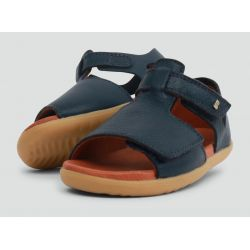 Bobux - Unisex 'Mirror' Navy Blue Dress Sandals