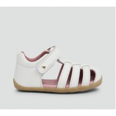 Bobux - Girls  Jump White sandal