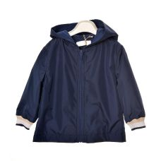 Bimbalo - Boys Navy Blue Hooded Jacket