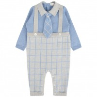 Bimbalo Baby Boys Knitted Romper