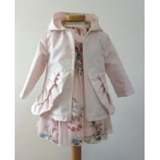 Bimbalo - Girls Soft Pink Hooded Jacket