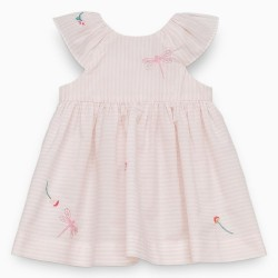 Tartine et Chocolat - Pale Pink Dragonfly Dress
