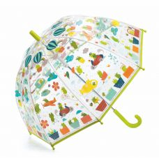 Djeco - 'Froglets' Umbrella With Green Handle