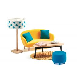 Djeco - The Orange Living Room