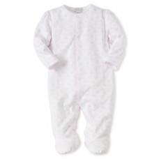 Kissy Kissy - Baby Girls 'Ele-fun' Print Footie