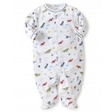 Kissy Kissy - Baby Boys 'Aviators' Print Footie
