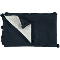 Mon Marcel - Unisex 'Astry' Blue Blanket
