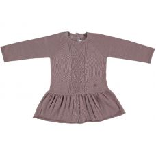 Mon Marcel - Girls Rose 'Chloe' Cotton Knit Dress