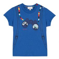 Paul Smith Junior - Boys Turkish Sea & Print 'Tilian' T.shirt