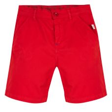 Paul Smith Junior - Boys Fiery Red Cotton 'Tatum' Bermuda Shorts