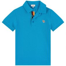 Paul Smith Junior - Boys Blue Danube 'Ridley Per' Polo Top