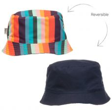 Paul Smith Junior - Boys 'Tada' Reversible Cotton Sun Hat