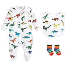 Paul Smith Junior 'Sharwin Lot' Babygrow Gift Set