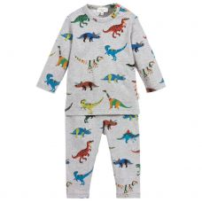 Paul Smith Junior Boys Dinosaur Pattern 'Skylar' Pyjamas