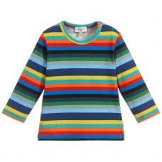 Paul Smith Junior Boys Multi Stripes 'Shaw' T.Shirt