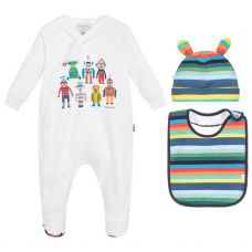 Paul Smith Junior 'Sutton Lot' Babygrow Gift Set