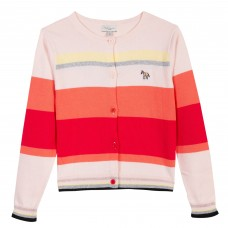 Paul Smith Junior - Girls 'Rosine' multi striped cardigan