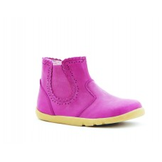 Bobux - Cerise Girl's Lucky Lacey Boot