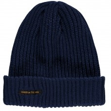 Finger In The Nose - Navy Blue Saporo Beanie
