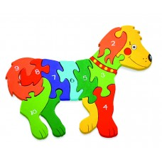 Alphabet Jigsaws - Number Dog