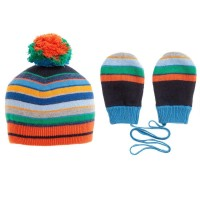 Paul Smith Junior - Pinata Beanie & Mittens Set