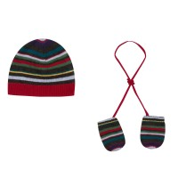 Paul Smith Junior - Mac Beanie & Mittens Set