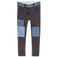 Stella McCartney Kids - Nina Washed Black Denim Trousers