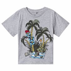 Stella McCartney Kids - Boys Thunder 'Holidays Snake' Cotton T.Shirt