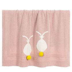 Stella McCartney Kids - Baby Girls Organic Cotton Blanket