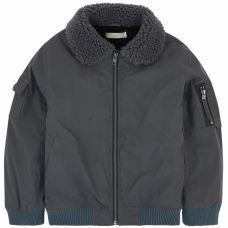 Stella McCartney Kids - Boys 'Kenneth' Aviator Jacket