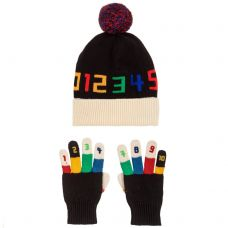 Stella McCartney Kids - Boys 'Ace & Twiddle' Hat & Gloves Set