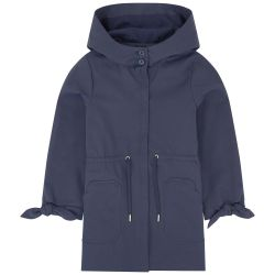 Tartine Et Chocolat - Girls Navy Blue Lightweight Parka